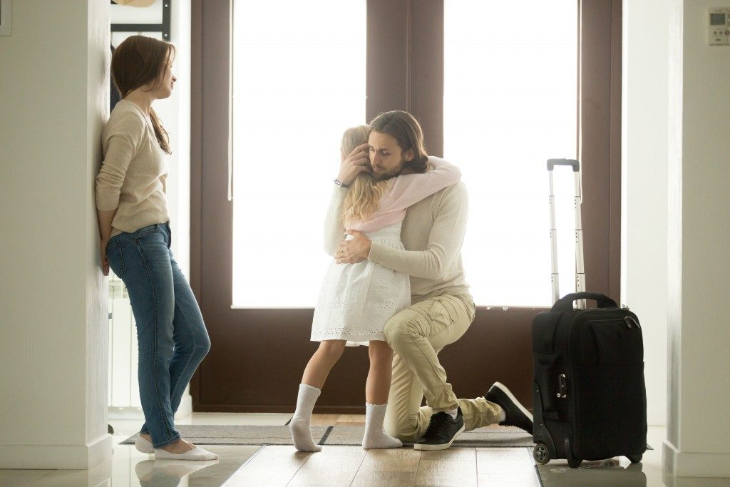 dad leaving