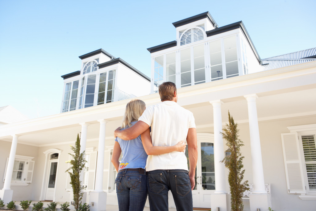couple looking at their dream home